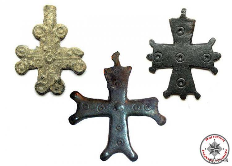 Древнерусские нательные кресты xi-xiii веков.